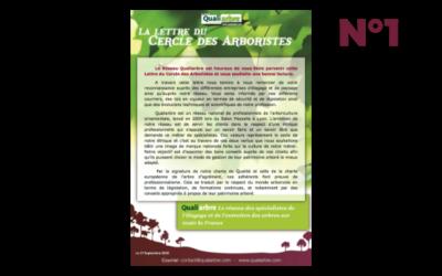 La Lettre des Arboristes n°1