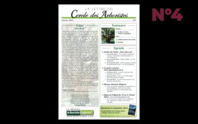 La Lettre des Arboristes n°4