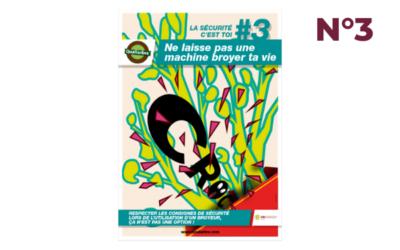 Affiche #3 – Vigilance avec les broyeurs