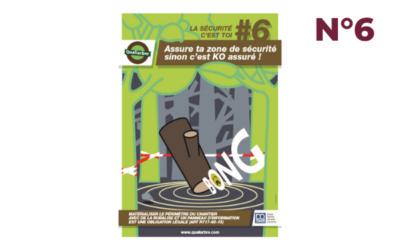 Affiche #6 – Matérialiser le périmètre de sécurité